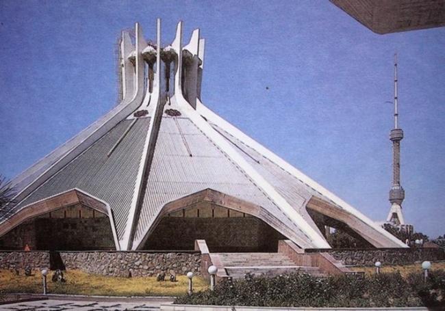 პავილიონი. ტაშკენტი,  უზბეკეთი. 70-იანი წლები