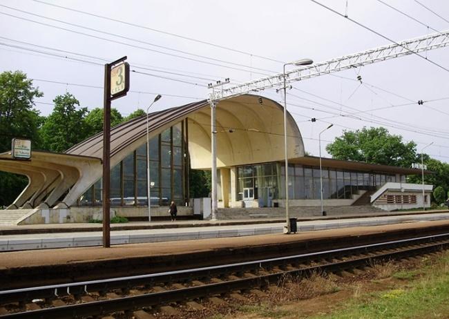 რკინიგზის სადგური - იურმალა, ლატვია. 1977 წ.