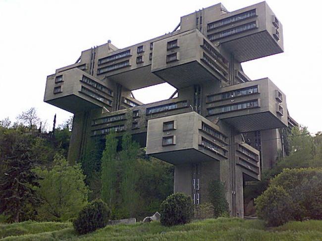 საავტომობილო გზების სამინისტოს შენობა - თბილისი, საქართველო
