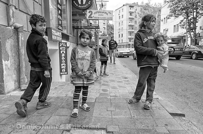 Off Pekini Street, Tbilisi, Georgia © Onnik Krikorian 2013