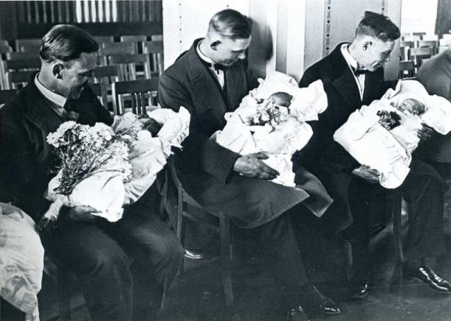 ახალბედა მამები 1931 წელი