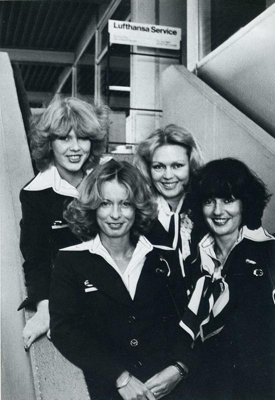 ავიაკომპანია Lufthansa-ს ბორტგამცილებლები 1979 წელი