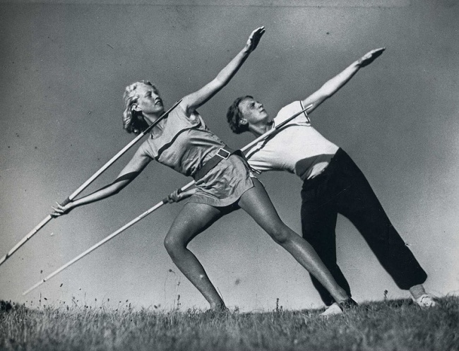 ათლეტების ვარჯიში 1931 წელი