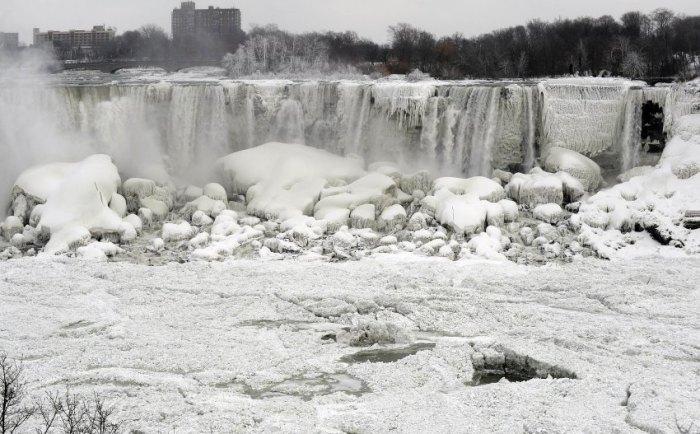 The American Falls shown from Niagara Falls