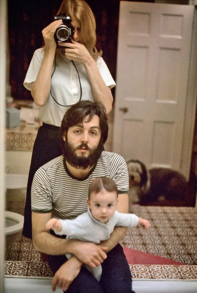 ლინდა, პოლი და მერი მაკარტნი, 1969 წელი